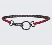 URBAN STATEMENT studded clip belt 75
