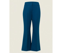 BOLD SILHOUETTE pants cropped flared 2