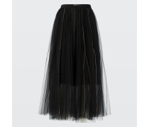 SENSITIVE TRANSPARENCY layered skirt 2