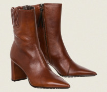 VINTAGE EFFECT padded point boot 38