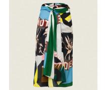 SILKY PATCH skirt 2