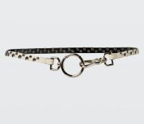 STUDDED ATTITUDE studded double clip belt 70