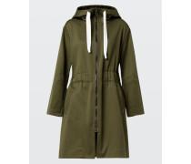 SURPRISING COLLAGE parka coat 1/1 2