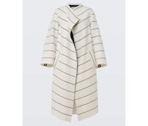 STRIPED ALLURE coat outdoor sleeve 1/1 2