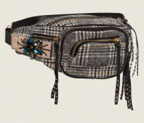 CHECK IT OUT waist bag with removeable embroidery
