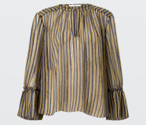 STRIPES ON THE MOVE blouse 7/8 5