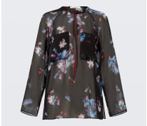 NIGHT-LOVING FLOWER blouse 2