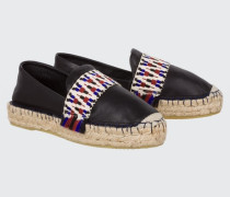 SUMMER SOFTNESS classic espadrille with ethnic tape 37