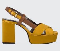 SHINY PERFECTION platform sandal 38