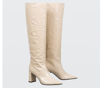 MODERN MONOCHROME under knee wide leg boot 38