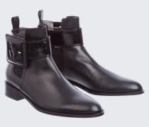 URBAN STATEMENT chelsea boot with lac buckle and strap 38