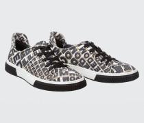 FREEDOM FANTASY Printed Sneaker 38