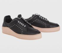 STUDDED ATTITUDE studded elastic sneaker 38