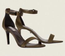SUMPTUOUS SATIN stiletto sandal (7cm) 38