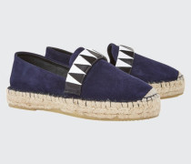SUMMER SOFTNESS classic espadrille with woven leather 38