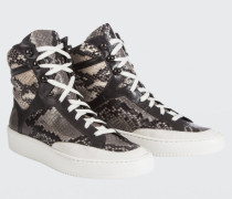 CASUALLY COOL snake mix hi-top 38