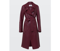 MODERN VOLUMES leather coat 2