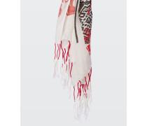 LINEN WANDERLUST linen mesh scarf