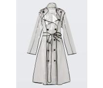TRANSPARENT VEIL coat 2