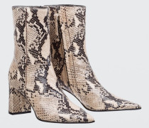 EXOTIC BELIEF snake print boot (7cm) 38