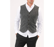 Herren Weste mit Tweed-Optik, Modern Fit