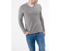 Herren Pullover V-Ausschnitt Modern Fit