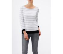 Damen Pullover U-Boot 3/4 Arm