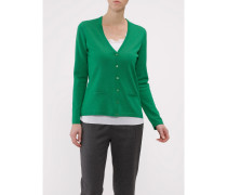 Damen Strick Cardigan, Merino Basic