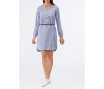 Damen Blusenkleid mit Vichykaro