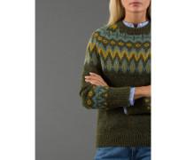 Damen Norweger-Pullover