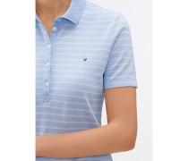 Damen Poloshirt gestreift