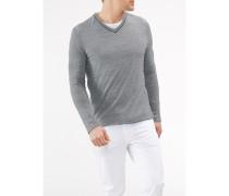 Herren Pullover V-Ausschnitt, Modern Fit