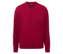 Herren V-Pullover, Merinowolle Superwash, Classic Fit
