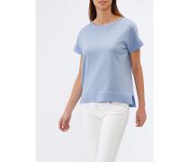 Damen Rundhals-Pullover Kurzarm