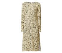 Kleid aus Viskose mit floralem Muster Modell 'Berta'