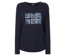 Boxy Fit Sweatshirt mit Logo-Print