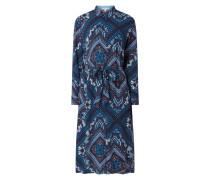 Blusenkleid mit Paisley-Dessin
