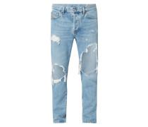 Slim-Skinny Fit Jeans im Destroyed Look