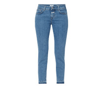 One Washed Slim Fit Jeans