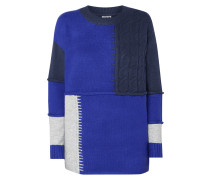 Pullover im Patchwork-Look