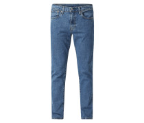 Regular Tapered Fit Jeans mit Stretch-Anteil Modell '502'