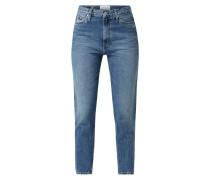 Mom Fit Jeans aus Baumwolle