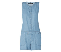 Playsuit in Denim-Optik