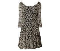 Kleid aus Spitze mit Paisley-Dessin