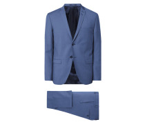 Slim Fit Anzug mit 2-Knopf-Sakko