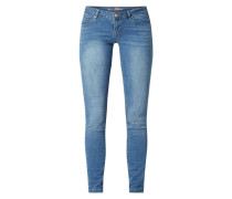Slim Fit Jeans mit Stretch-Anteil Modell 'Italy'