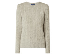 Pullover aus Woll-Kaschmir-Mix