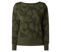 Straight Fit Sweatshirt mit recyceltem Polyester-Anteil