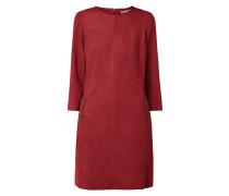 Kleid mit Reißverschlusstaschen
