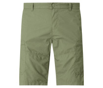 Regular Slim Fit Shorts im Cargo-Look
